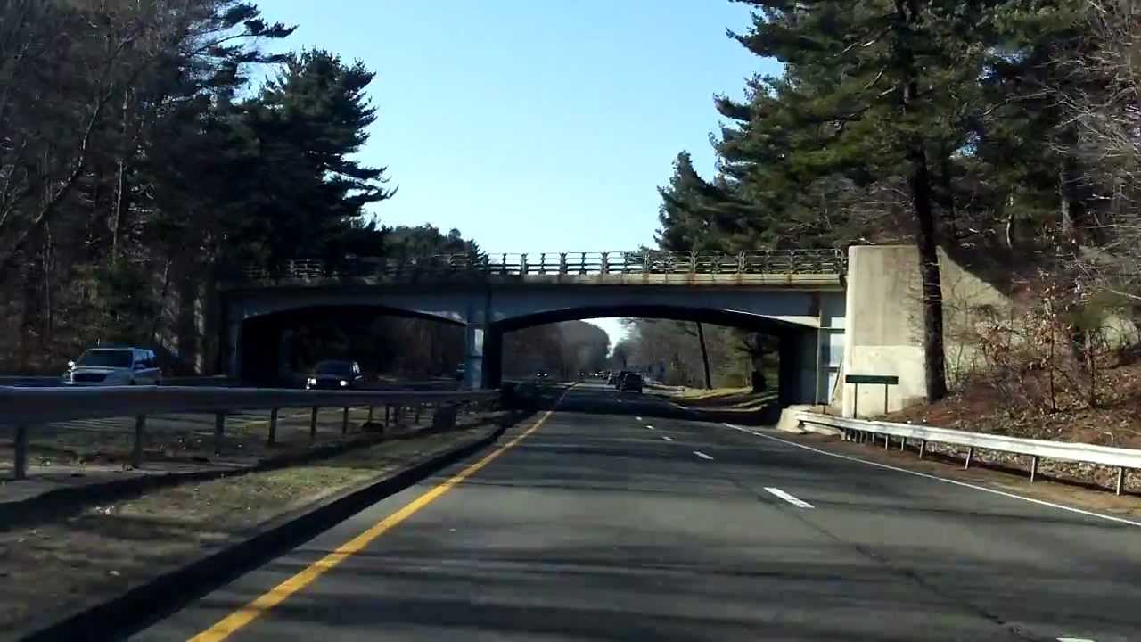 Wilbur Cross Parkway (Exits 59 to 54) southbound