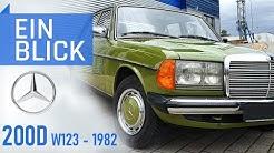 Mercedes 200D W123 (1982) - Ein Auto für die Ewigkeit, ein Taxi für die ganze Welt!