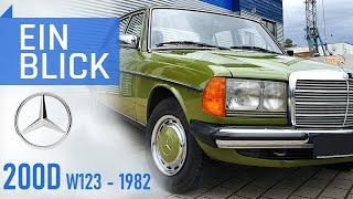 Mercedes 200D W123 1982 - Ein Auto für die Ewigkeit, ein Taxi für die ganze Welt