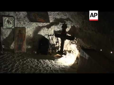 Monks seek peace in ancient Judean Desert monastry