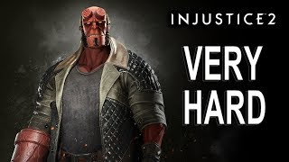 Injustice 2 - Hellboy Battle Simulator (VERY HARD) NO MATCHES LOST