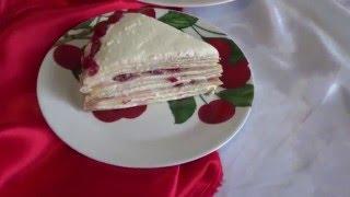 Рецепт блинного торта.
