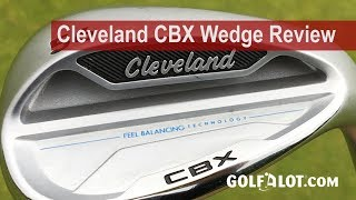 Cleveland CBX Wedge Review By Golfalot