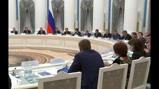 Губернатор Андрей Бочаров выступил с докладом на заседании оргкомитета Года экологии в России