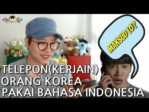 Cover Lagu (PRANK CALL) JIKA ORANG KOREA DIAJAK BICARA PAKAI BAHASA INDONESIA? HITSLAGU