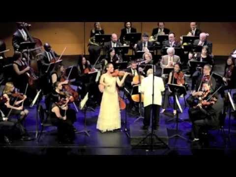Claudia Schaer plays Brahms Concerto [excerpt]