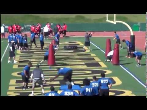 Johnny Den Bleyker - USA Football Camp - Day 2 Film