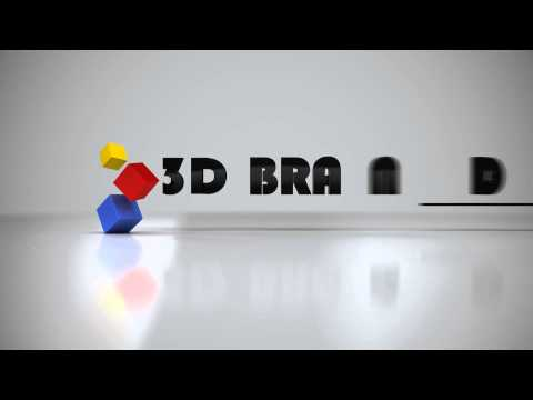 3D Brand Animations  - 3D Logo Animation Variation #2