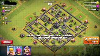 RUSHED BASEN || Clash of Clans #001