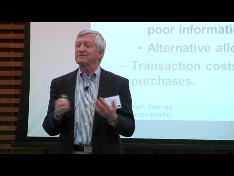 James Sweeney: Green Cities and Energy Efficiency