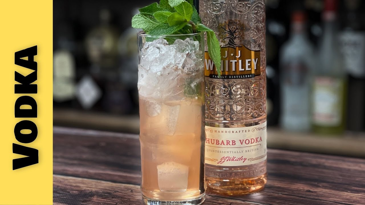 Easy Vodka Cocktails Recipes with Rhubarb Vodka