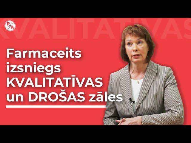 Dace Ķikute par patentbrīvajiem medikamentiem