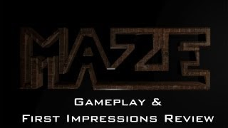 M.A.Z.E (Free Indie Horror Game) Gameplay & First Impressions Review