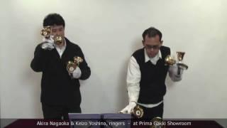 Our Guest Artist #03 Akira Nagaoka & Keizo Yoshino, the ringers - at Prima Gakki Showroom
