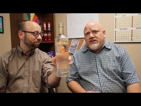 Smirnoff Vodka Kissed Caramel First Taste Review