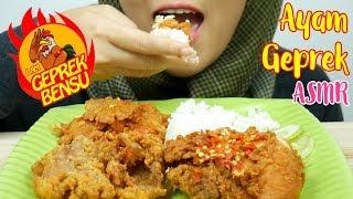Download Video #70 Request ASMR Eating Sounds: Ayam Geprek Bensu    먹방    ASMR Indonesia MP3 3GP MP4