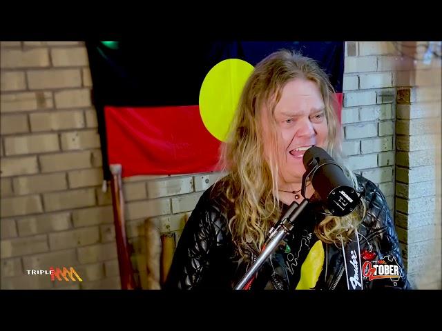 Scott Darlow Covers 'The Dead Heart' By Midnight Oil For Triple M's Oztober | Triple M