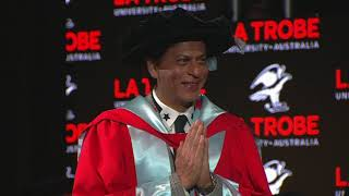 Shah Rukh Khan honoured at La Trobe University