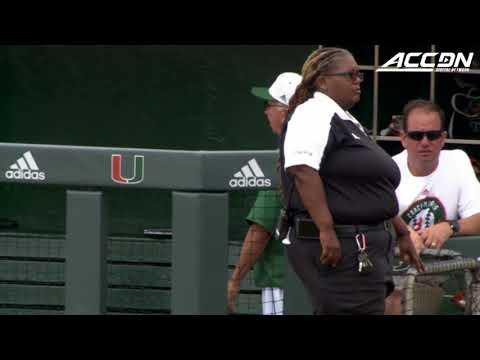 Miami Honors Head Coach Jim Morris Before Final Home Game
