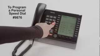 Program and Use Personal Speed Dial