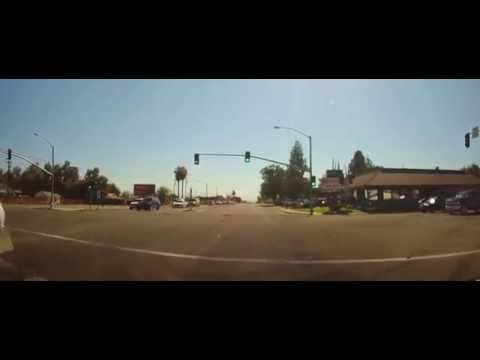 Driving Around Bakersfield, California