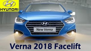 Hyundai Verna 2018 Facelift To be Launched in India Soon 8 13.5Lakh Specifications, Features