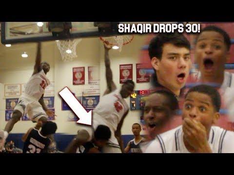 POSTER OF THE YEAR! SHAQIR O'NEAL SPLASHES 9 3's! SHAQIR O'NEAL GOES CRAZY!!