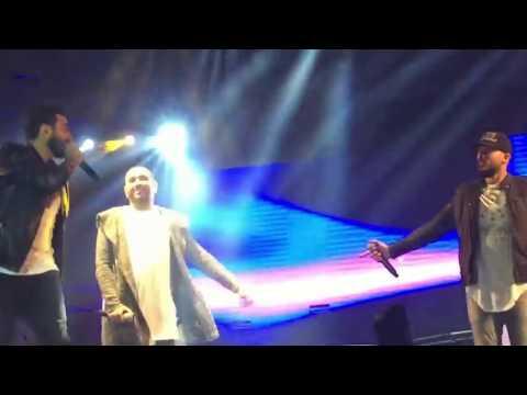 tamer hosny ,karim mohsen and hosaam el husseiny live in must uni 2017