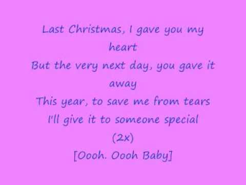 George Michael   WHAM!   Last Christmas with lyrics   YouTube