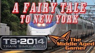 Train Simulator 2014 - Northeast Corridor Route - A Fairy Tale of NewYork - NO HUD