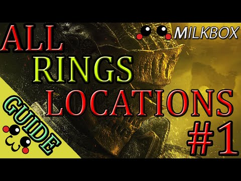Dark Souls 3 | All Rings Locations Guide | Part 1