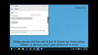 Impossible De Se Connecter Au Serveur Proxy Sous Windows 10 (La solution)