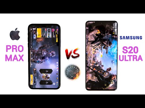 IPhone 11 Pro Max Vs Galaxy S20 Ultra SPEED Test - Battle Of The BEASTS!