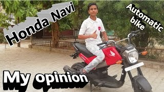 Honda NAVi | Quick review | Test ride | all specifications | by Beyond infinity Abhishek Ranjan