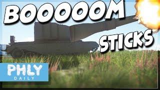 BRITISH BOOMSTICKS | Biggest Guns In The GAME (War Thunder Meme Tanks)