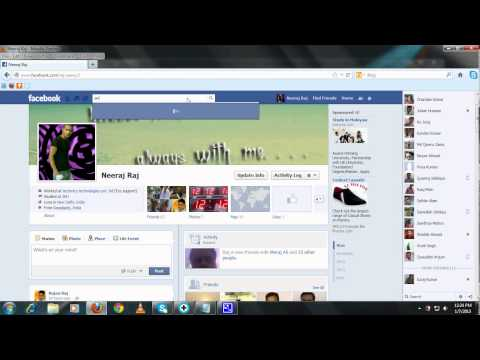 How to make friend request on facebook