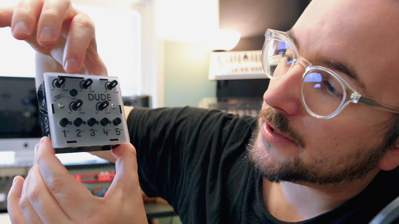 Is this TINY MIXER perfect for SYNTHS? First Look at BASTL DUDE