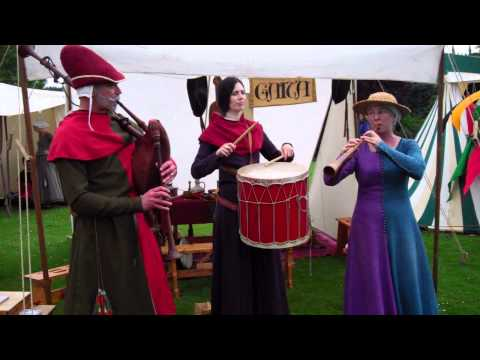 Medieval Music The Bruce Festival Dunfermline Fife Scotland