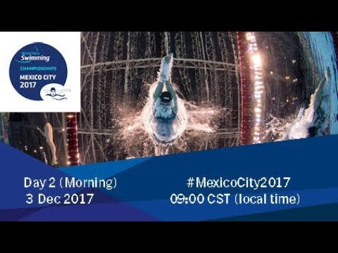 World Para Swimming Championships | Mexico City 2017 | Day 2 Morning