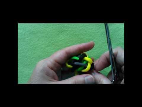 7P 8B Sennit rose knot (a button knot)  REVISED VERSION