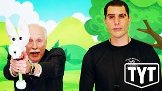 Sacha Baron Cohen DESTROYS Gun-Rights Freaks