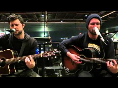 Taking Back Sunday Flicker Fade acoustically at Emo's in Austin (2/20)