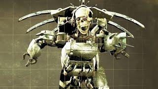 Fallout 4 Automatron - Building Loading Screen Assaultron Robot (Custom Robot Companion)