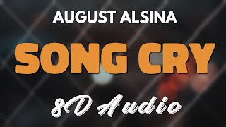 August alsina - song cry [8d audio]