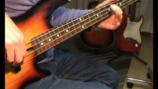 Elvis Presley - Jailhouse Rock - Bass Cover