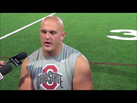 Ohio State C Billy Price 8/28/17 - ELEVENWARRIORS.COM