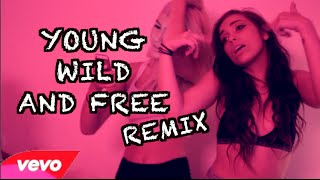Snoop Dogg x Wiz Khalifa - Young, Wild and Free REMIX | Dani Noe
