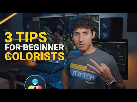 DaVinci Resolve 16 Tutorial: 3 Tips for beginner colorists