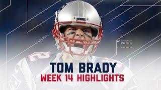 Tom Brady Throws for 406 yards, 3 TDs | Ravens vs. Patriots | NFL Week 14 Player Highlights