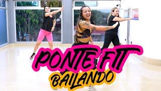 PONTE FIT BAILANDO en CASA - Cardio Dance #74- Non stop Zumba Class - Natalia Vanq
